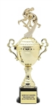 Monaco Gold Cup<BR>Motion Wrestling Trophy<BR> 13 to 16 Inches<BR> Male or Female
