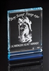Executive Billboard<BR> Blue Acrylic Trophy<BR> 5 to 7 Inches