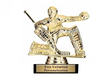 Ice Hockey Goalie Trophy<BR> 4.5 Inches