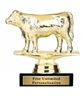 Angus Cow Trophy<BR> 4 Inches