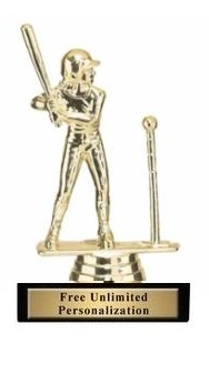 T Ball Trophy<BR> Female<BR> 5.75 Inches