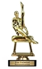 Male Gymnast Trophy<BR> 6 Inches