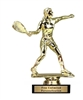 Raquetball Trophy<BR> Male or Female<BR> 6 Inches