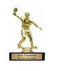 Male Table Tennis<BR> Gold Trophy<BR> 5.25 Inches