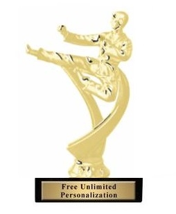 Motion Male<BR> Karate Trophy<BR> 6.75 Inches