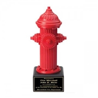 Fire Hydrant Trophy<BR> 10 Inches