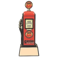 Gas Pump Trophy<BR> 8.5 and 11.75 Inches