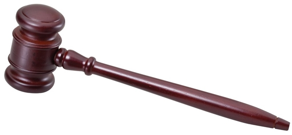 High Gloss Rosewood<BR> Premium Gavel<BR> 10 Inch