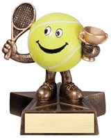 LIL' BUDDY<BR> TENNIS TROPHY<BR> 4 Inches