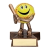 LIL' BUDDY<BR> SOFTBALL TROPHY<BR> 4 Inches