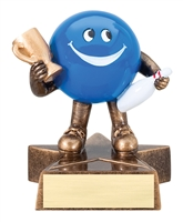 LIL' BUDDY<BR> BOWLING TROPHY<BR> 4 Inches