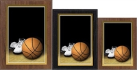 Photo Sport<BR> Basketball Plaque<BR> 3 Sizes