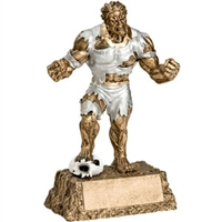 Soccer Trophy <BR> Monster <BR>6.75 Inches