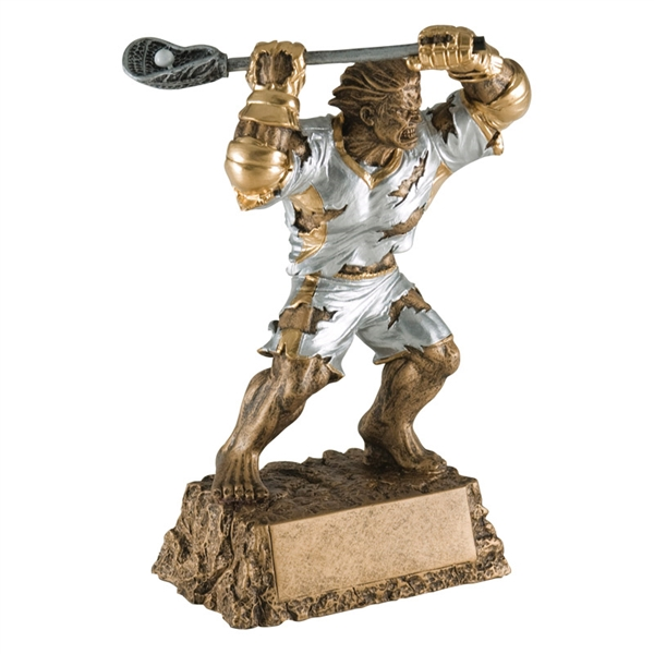 Lacrosse Trophy <BR> Monster <BR>6.75 Inches