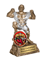 Chili Cook Off Trophy<BR> Monster<BR> 6.75 Inches