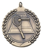 Die Cast XXL<BR> Tennis Medal<BR> Gold/Silver/Bronze<BR> 2.75 Inches