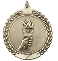 Budget Die Cast<BR> Victory Medal<BR> Gold/Silver/Bronze<BR> 1.75 Inch