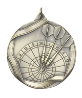 Olympic Darts Medal<BR> Gold/Silver/Bronze<BR> 2.25 Inches