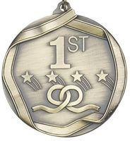 Olympic 1st Place Medal<BR> Gold<BR> 2.25 Inches