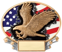 Eagle<BR> Explosion Trophy<BR> 6 Inches