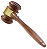 Standard Gavel<BR> 10.5 Inches