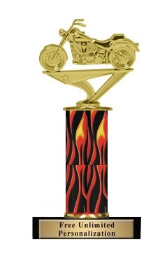 Flame Column<BR> SoftTail Trophy<BR> 10-12 Inches