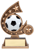 Comet Soccer Trophy<BR> 5.75 Inches