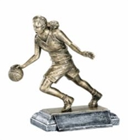 Freeman Classic<BR> Female Basketball Trophy<BR> 8 Inches