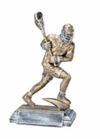 Freeman Classic<BR> Male Lacrosse Player Trophy<BR> 9.75 Inches