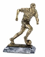 Freeman Classic<BR> Male Soccer Trophy<BR> 8 Inches