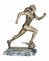 Freeman Classic<BR> Female Track Trophy<BR> 8 Inches
