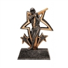 Sports Star<BR> Baseball Trophy<BR> 6 Inches