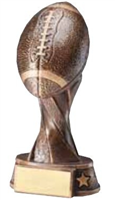 Spiral Football Trophy<BR> 5.5 to 11 Inches