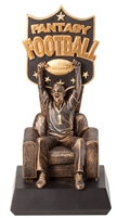Sofa Man<BR> Fantasy Football Trophy<BR> 11 Inches