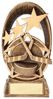 Radiant Star<BR> Hockey Trophy<BR> 6.5 Inches