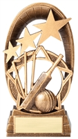 Radiant Star<BR> Cricket Trophy<BR> 6.5 Inches