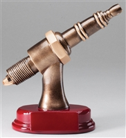 Spark Plug Trophy<BR> 6 Inches