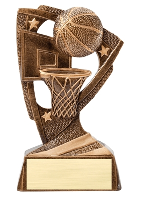 Delta Basketball Trophy<BR> 6.25 Inches