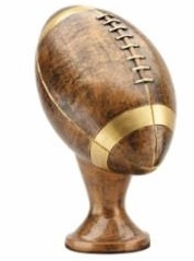 Bronze Gallery<BR> Football Replacement<BR> 11.5 Inches