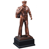 Bronze Gallery<BR> US Navy Trophy<BR> 12 Inches
