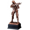 Bronze Gallery<BR> US Army Trophy<BR> 12 Inches