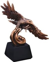 Soaring Bronze Eagle