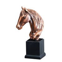 Bronze Gallery<BR> Horse Trophy<BR> 12 Inches
