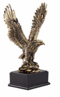 Premium Gold<BR> Eagle Trophy<BR> 15 Inches