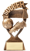 Banner<BR> Soccer Trophy<BR> 6 & 7 Inches