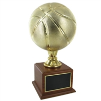 Premium Gold<BR> Basketball Trophy<BR> 16 Inches