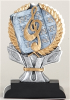 Impact<BR> Music Trophy<BR> 6 Inches