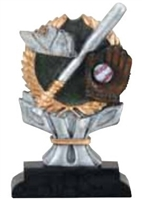 Impact<BR> Baseball Trophy<BR> 6 Inches