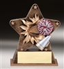 Starburst Cheer Trophy<BR> 5.5 Inches