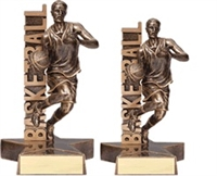 Billboard<BR> Male Basketball Trophy<BR> 6.5 & 8.5 Inches